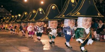 The dancing dwarves, bajada de la virgen, Santa Cruz de La Palma