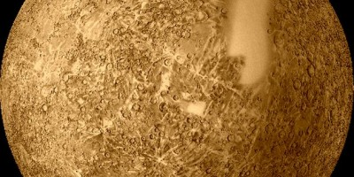 Nasa image of the planet Mercury