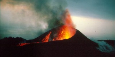 The eruption of Teneguía, Fuencaliente, 1971