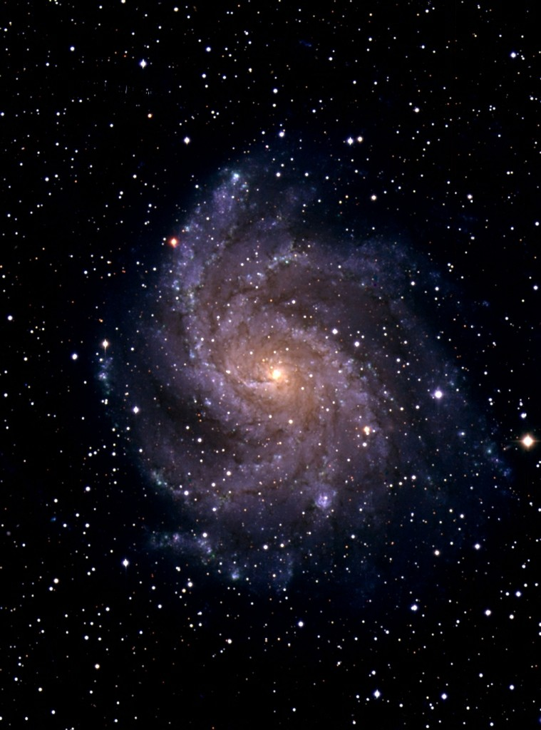 Galaxy M51 taken with the Isaac Newton Telescope and Wide Field Camera by Simon Driver