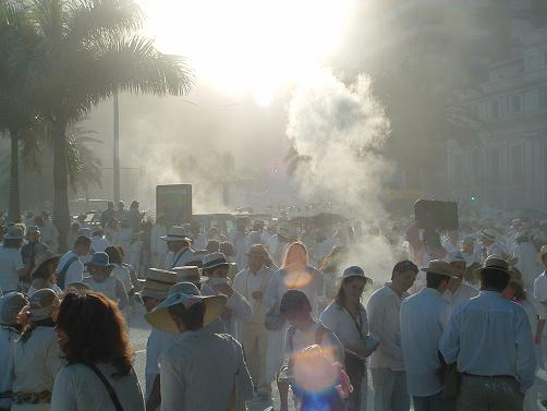 Los Indianos parade, Santa Cruz de La Palma, Carnival 2007