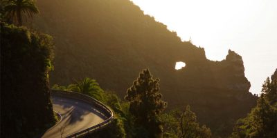 The rhinocerous rock, Tijarafe, LaPalma island