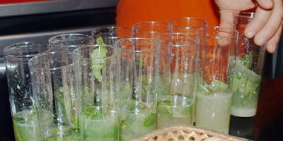 Mojitos for carnival, Santa Cruz de La Palma