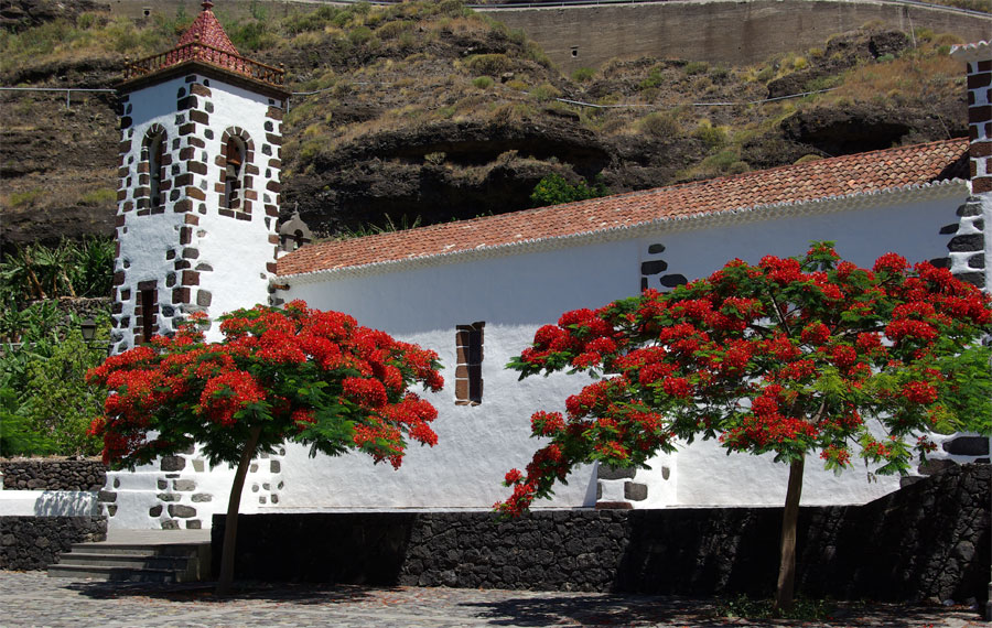 Las Angustias Church, La Palma island