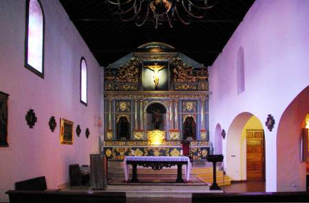 The old nave in Tazacorte church