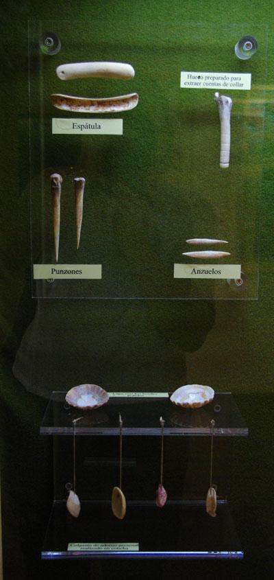 Benhoarita artifacts, Belmaco cave, Mazo