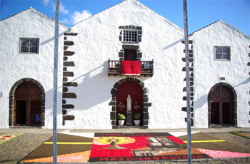 Exterior of the Church of San Blas, Mazo, La Palma
