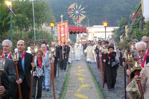 Corpus Christi Procession, Mazo, La Palma