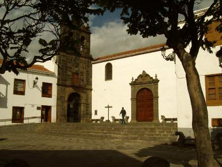 The entrance to the island's museum, beside the church of San Francisco, Santa Cruz de la Palma