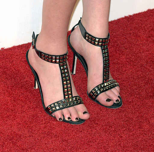 Whitney Port wearing Manolo Blahnik's 2009 design 'Tribeca'. Photo: David Shankbone