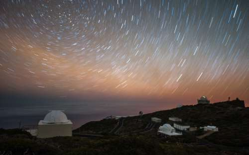 The Roque at night by Manel Soria