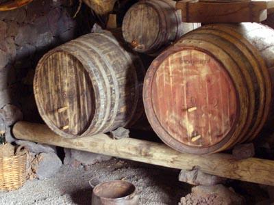 Wine Barrels, La Glorieta Wine museum, El Paso, La Palma island