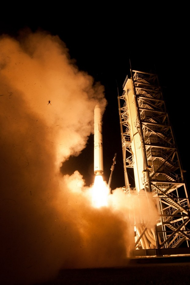 An unlucky frog caught in a NASA launch on September 6, 2013. Credit NASA/Wallops/Mid-Atlantic Regional Spaceport