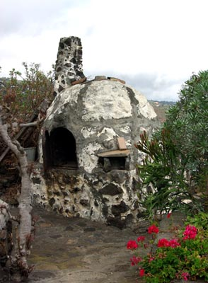 The kiln at el Molino, Mazo
