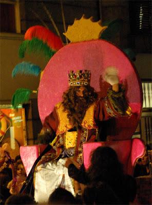 Gaspar visiting Santa Cruz de la Palma