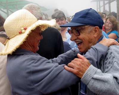 Dancing at San Antonio del Monte, Garafía