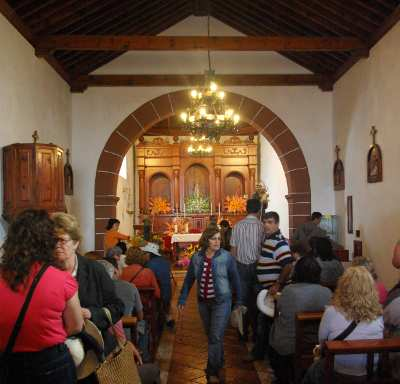 The chapel at San Antonio del Monte, Garafía
