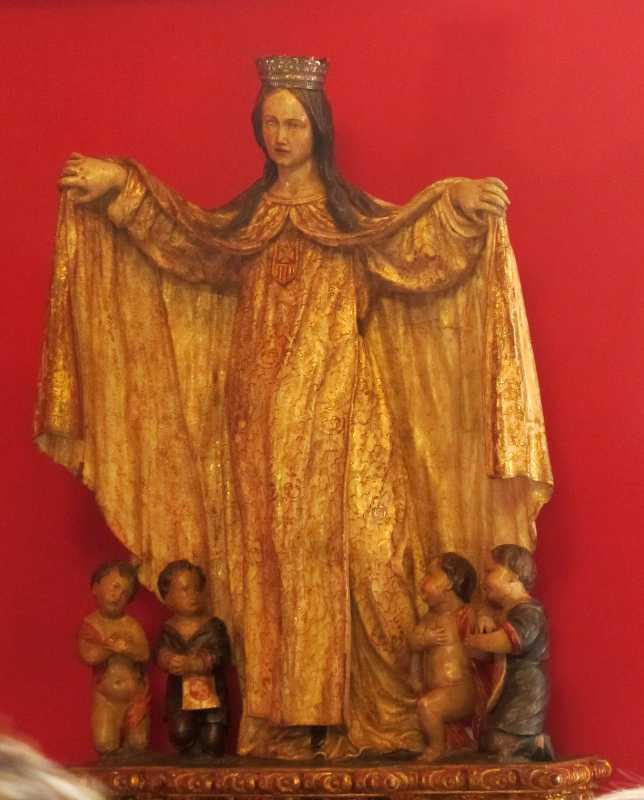 Statue of a pregnant Madonna, Hacienda de Abajo, Tazacorte