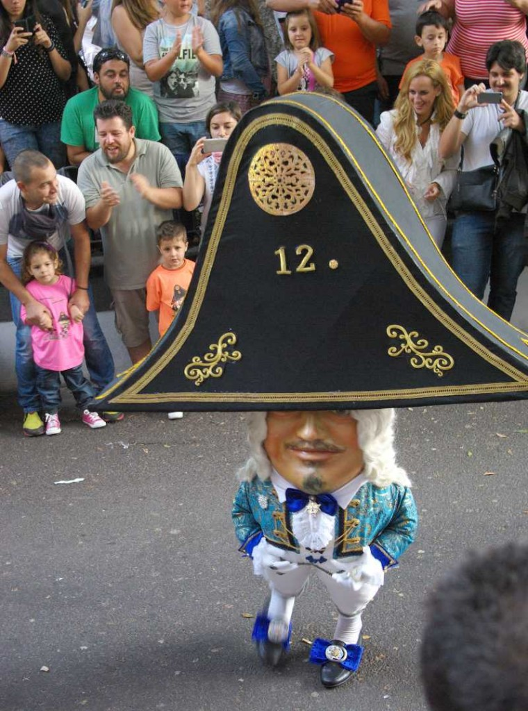 One of La Palma's dancing dwarves, Santa Cruz
