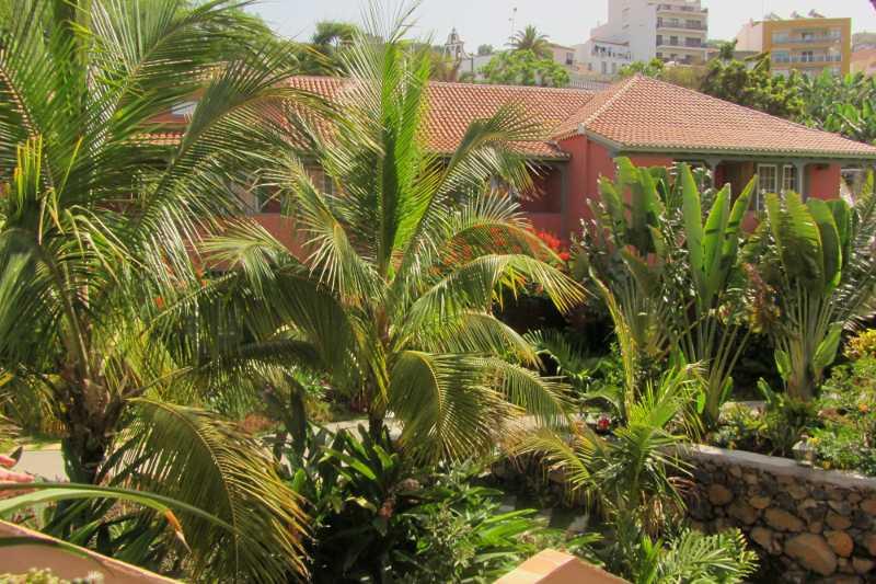 The garden at Hacienda de Abajo, Tazacorte