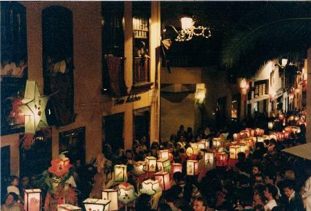 he parade of Pandorgas from 2005, Santa Cruz de la Palma