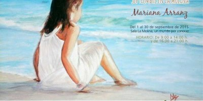 Poster for Mariana's exhibition