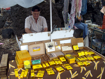 Cigars from the island of La Palma