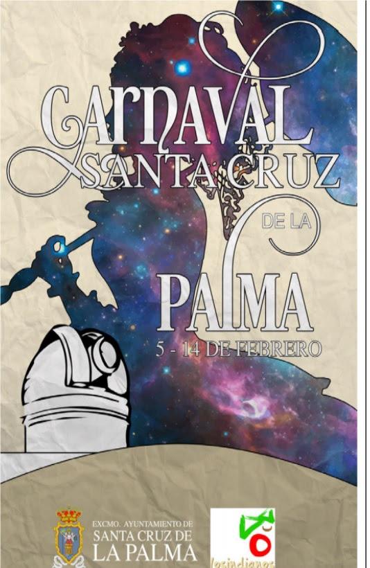 The poster for Carnival in Santa Cruz de La Palma