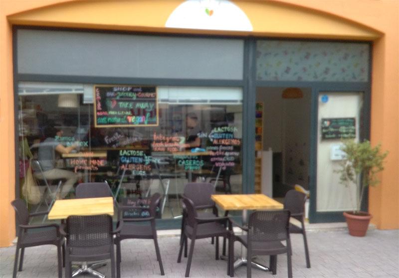 Vega Art health food shop in Los Cancajos, Brena Baja