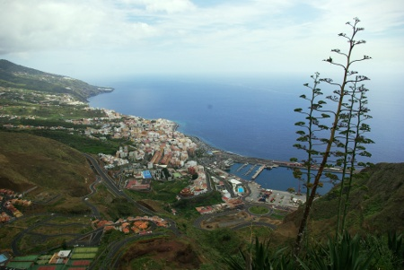 Santa Cruz de la Palma from the Concepción viewpoint, Breña Alta