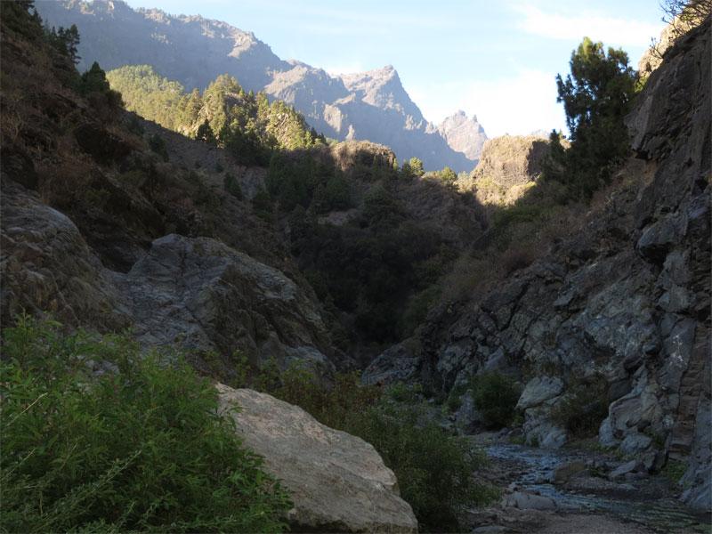 The Caldera de Taburiente, La Palma