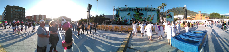 Day carnival in Los Llanos, just starting