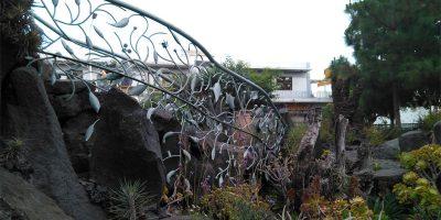Art nouveau barrier, Antonio Gomez Felipe park, Los Llanos de Aridane