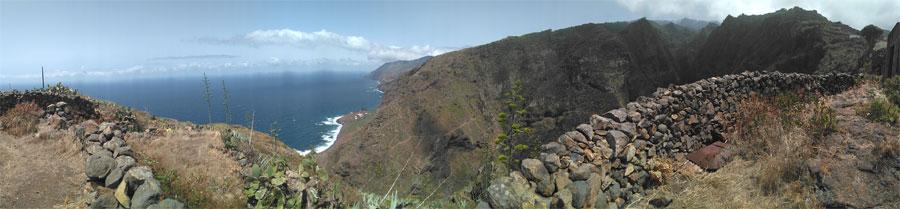 Topo viewpoint, El Tablado, La Palma island