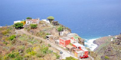 The Topo area of El Tablado, La Palma island