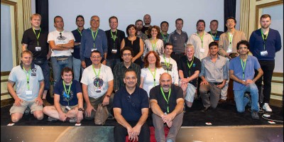 Speakers, attedees and organisers of the 1st Nightscape Conference, La Palma